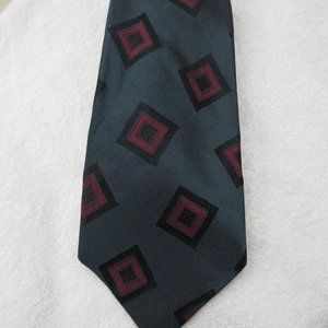 Talbott Studio Nordstrom Tie 100% Silk Geometric